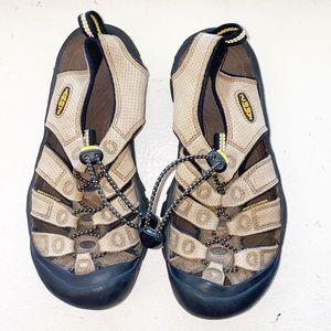 Keen Tan Newport Closed Toe Waterproof Sandals